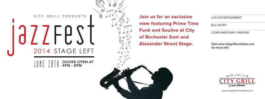 City Grill Jazzfest