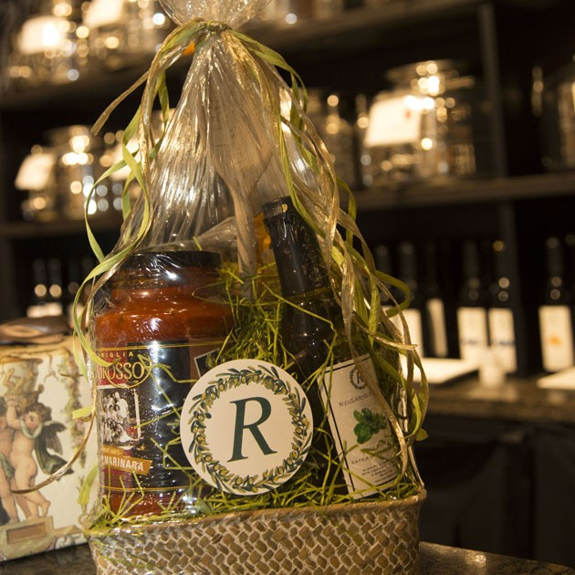 Gift Baskets- pre-made or create your own.