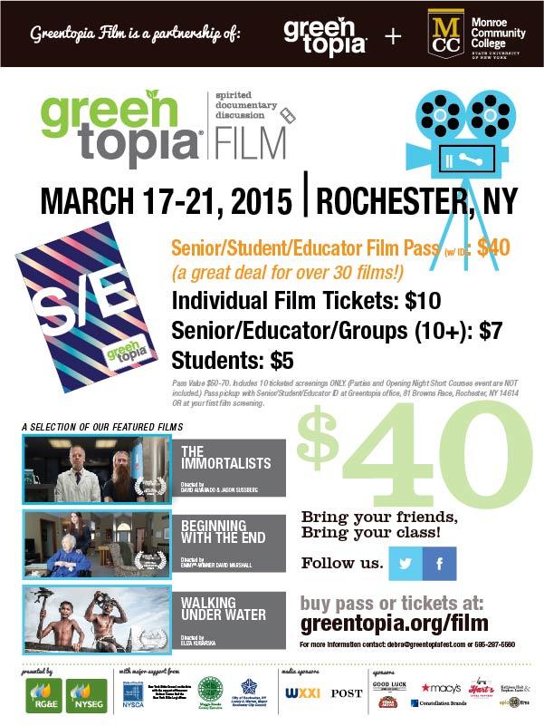 Greentopia Film Festival 2015