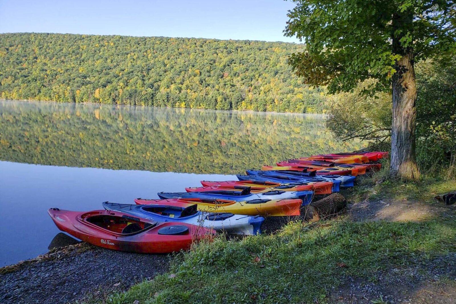 Kayaking Photo Honeoye Lake