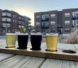 View from the patio at Roc Brewing
